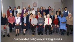 Religieux et religieuses à la journée du 17 février 2018