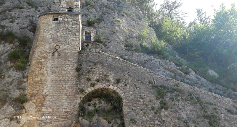 © N.Bottou/Diocèse de Mende - Ermitage Saint-Privat à Mende (Lozère)