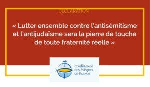 2021-02-02_Img-Une_Declaration-lutte-antisemitisme_Diocese-mende