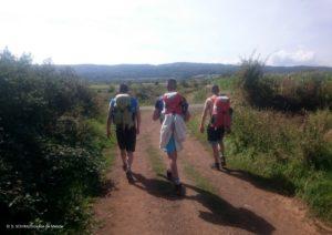 Sur les chemins de Saint-Jacques de Compostelle avec des détenus - sur le diocèse de Mende