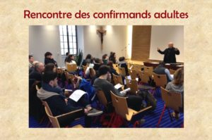 Matinée de formation des confirmands adultes